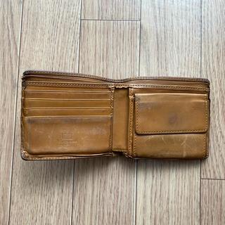 ホワイトハウスコックス(WHITEHOUSE COX)のホワイトハウスコックス 二つ財布 キャメル(折り財布)