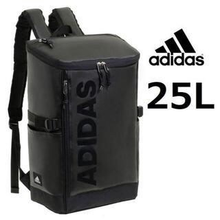 adidas - 値下げ※新製品《アディダス》ボックス型リュックサック25L ブラック×ブラック