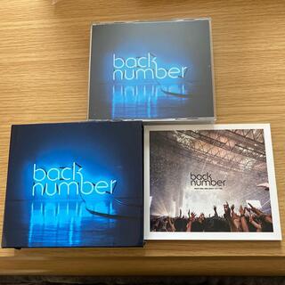バックナンバー(BACK NUMBER)のアンコール(初回限定盤A/DVD ver.)back number(ポップス/ロック(邦楽))