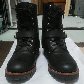 アヴィレックス(AVIREX)のカモメさん専用☆ AVIREX YAMATO ライディングブーツ 黒27センチ(ブーツ)