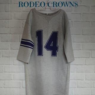 RODEO CROWNS - ロデオクラウンズ ワンピース M