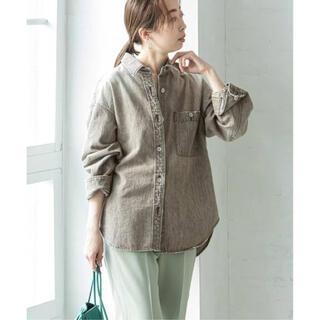 ノーブル(Noble)のNOBLE  Foggy color Denim オーバーシャツ(Gジャン/デニムジャケット)