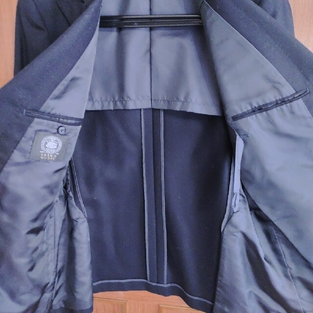 J.PRESS(ジェイプレス)の美品 ジェイプレス  J.PRESSダブルブレザー A7 LL 紺 金釦 秋冬 メンズのジャケット/アウター(テーラードジャケット)の商品写真