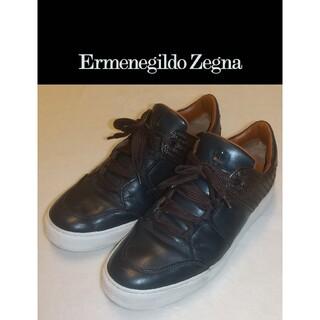 エルメネジルドゼニア(Ermenegildo Zegna)のErmenegildo Zegna エルメネジルドゼニア レザースニーカー(スニーカー)