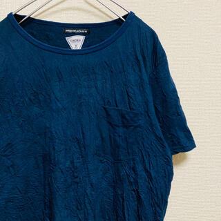 クライミー(CRIMIE)の一点物 コードナンバーエイト シワ加工 memento mori カットソー(Tシャツ/カットソー(半袖/袖なし))