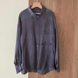 コモリ(COMOLI)のuru urutokyo キュプラ シャツ cupro shirts(シャツ)