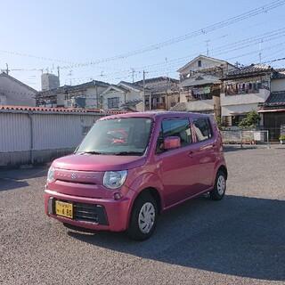 スズキ - 車検2年付き  車検受けたて  新型   モコ  MRワゴンエコ かわいいピンク