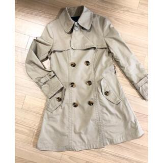 ELAND トレンチコート  春コート スプリングコート キャメル(トレンチコート)