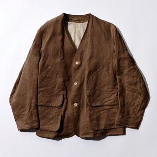 コモリ(COMOLI)のCOMOLI 21SS 別注 ヘンプダックジャケット サイズ 1 新品(ノーカラージャケット)