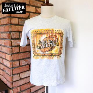 ジャンポールゴルチエ(Jean-Paul GAULTIER)の数回 ジャンポールゴルチェオム 半袖 Tシャツ ライトグレー系 S(Tシャツ/カットソー(半袖/袖なし))