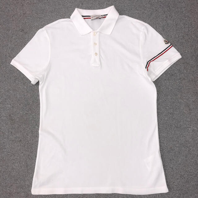 MONCLER(モンクレール)のモンクレール ポロシャツ   サイズM メンズのトップス(ポロシャツ)の商品写真