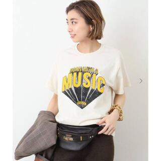 ドゥーズィエムクラス(DEUXIEME CLASSE)のドゥーズィエムクラス【NEWTONE / ニュートーン】 MUSIC Tシャツ(Tシャツ(半袖/袖なし))