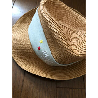 アナップキッズ(ANAP Kids)のANAPWay 麦わら帽子 52cm(帽子)