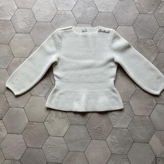 ハロッズ(Harrods)の美品 ELISA エリザ セーター ペプラムニット(ニット/セーター)