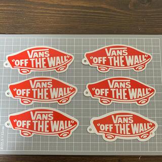 ヴァンズ(VANS)のvans ステッカー 6枚set(スケートボード)