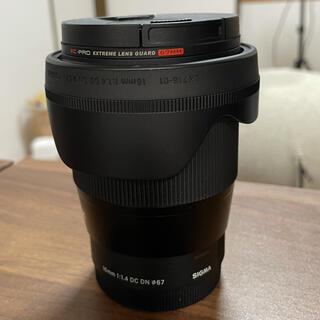 SIGMA - シグマ 16mm F1.4 DC DN Eマウント