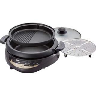 タイガー(TIGER)のグリル鍋 CQG-B200(調理機器)