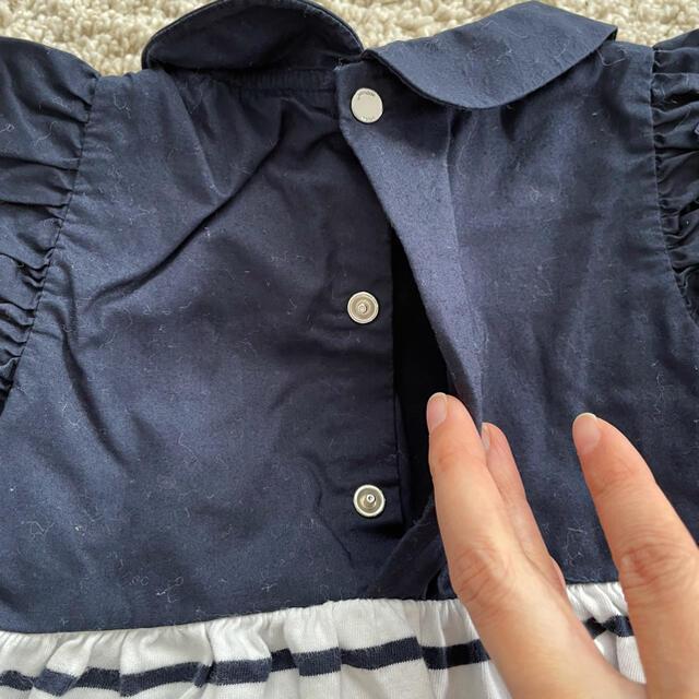Jacadi(ジャカディ)のJacadi 18month ワンピース キッズ/ベビー/マタニティのベビー服(~85cm)(ワンピース)の商品写真