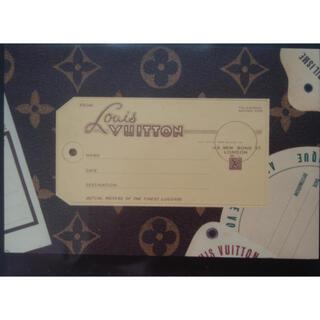 ルイヴィトン(LOUIS VUITTON)のLOUIS VUITTON 非売品ポストカード(モノグラム)(ノベルティグッズ)