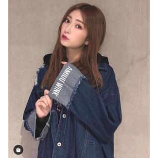 エヌエムビーフォーティーエイト(NMB48)のamiuu wink  デニムジャケット フリーサイズ(Gジャン/デニムジャケット)