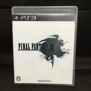 プレイステーション3(PlayStation3)のファイナルファンタジーXIII PS3(家庭用ゲームソフト)