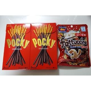グリコ(グリコ)の送料無料! ポッキー glico チョコレート フェットチーネグミ コーラ (菓子/デザート)