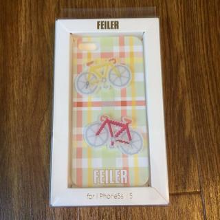 フェイラー(FEILER)の新品未使用♡フェイラー iPhone5/5sケース(iPhoneケース)