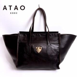 ATAO - 美品 ATAO カンパネラ レザー トートバッグ