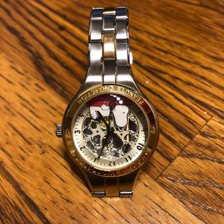 スヌーピー(SNOOPY)のスヌーピー&ウッドストック21周年の腕時計(腕時計)