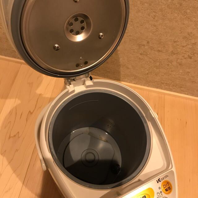 象印(ゾウジルシ)の電気ポット「優湯生」  ZOJIRUSHI CV-TT 22型 スマホ/家電/カメラの生活家電(電気ポット)の商品写真