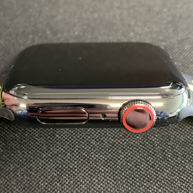 Apple(アップル)の専用!申請あり Apple Watch series 5 44mm ステンレス スマホ/家電/カメラのスマートフォン/携帯電話(その他)の商品写真