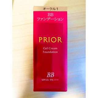 PRIOR - 資生堂 プリオール 美つやBBジェルクリーム オークル1 30g