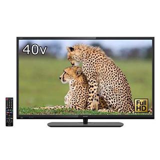 SHARP - シャープ40V型 液晶 テレビ (外付HDD対応)