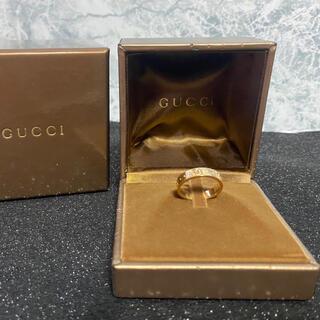 Gucci - 正規品/美品/GUCCI/ICON RING/K18YG/#10(#9.7)