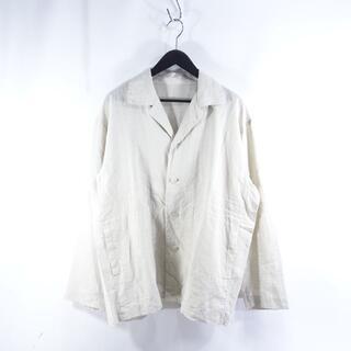 イッセイミヤケ(ISSEY MIYAKE)のISSEY MIYAKE 20ss COTTON LINEN SHIRT(シャツ)