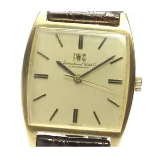 インターナショナルウォッチカンパニー(IWC)のIWC K18YG  アンティーク cal.403  メンズ 【中古】(腕時計(アナログ))