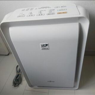 富士通 - 富士通 脱臭器 プラズィオン DAS-303E-W