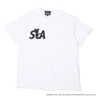 SEA - BE@RBRICK x atmos x WIND AND SEA Tシャツ XL