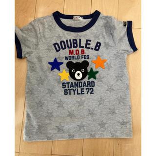 DOUBLE.B - ダブルb 120センチ tシャツ