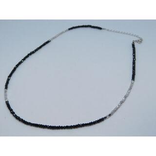 エスオーエスエフピー(S.O.S fp)の極 美品 シンパシーオブソウル ブラック スピネル ネックレス(ネックレス)