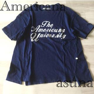 ドゥーズィエムクラス(DEUXIEME CLASSE)のAmericana アメリカーナ Tシャツ カットソー(Tシャツ(半袖/袖なし))