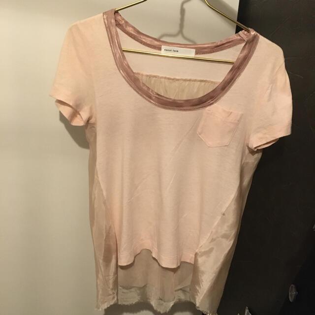 sacai luck(サカイラック)のsacai luck チュールt レディースのトップス(Tシャツ(半袖/袖なし))の商品写真