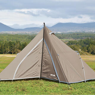 UNIFLAME - 【最安値/新品】ユニフレーム レボルーム4プラスII TAN テント
