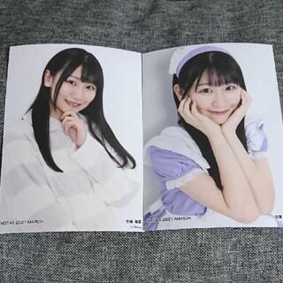 エヌジーティーフォーティーエイト(NGT48)の2枚セット 佐藤海里 トレーディング生写真(アイドルグッズ)