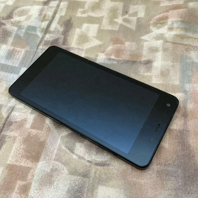 京セラ(キョウセラ)のsoftbank 602kc digno g ブラック 京セラ simフリー スマホ/家電/カメラのスマートフォン/携帯電話(スマートフォン本体)の商品写真