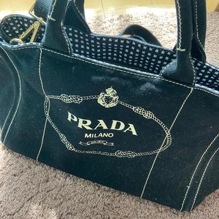 PRADA - PRADA カナパ 黒 2way M