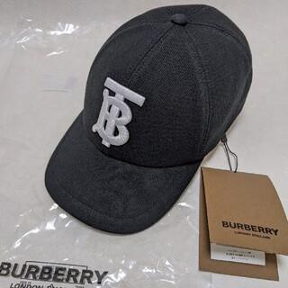 BURBERRY - 【新品正規品】 Burberryモノグラムモチーフ コットンジャージー キャップ