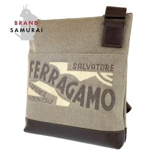 サルヴァトーレフェラガモ(Salvatore Ferragamo)のサルヴァトーレフェラガモ 斜め掛け ショルダーバッグ 104053(ショルダーバッグ)