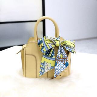 TOD'S - 超美品 TOD'S トッズ ミニセラ 2wayバッグ イエロー