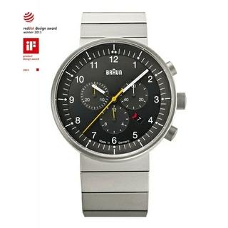 ブラウン(BRAUN)の新品未使用BRAUNクロノグラフ腕時計BN0095BKSLBTG(腕時計(アナログ))